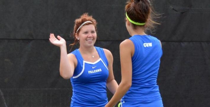Women's Tennis advances past Aurora into NAC Tournament