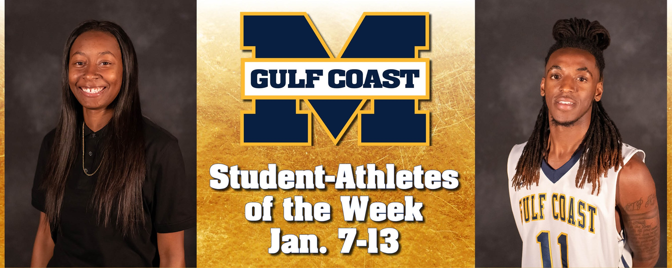 McCullah, Spivery named MGCCC Student-Athletes of the Week