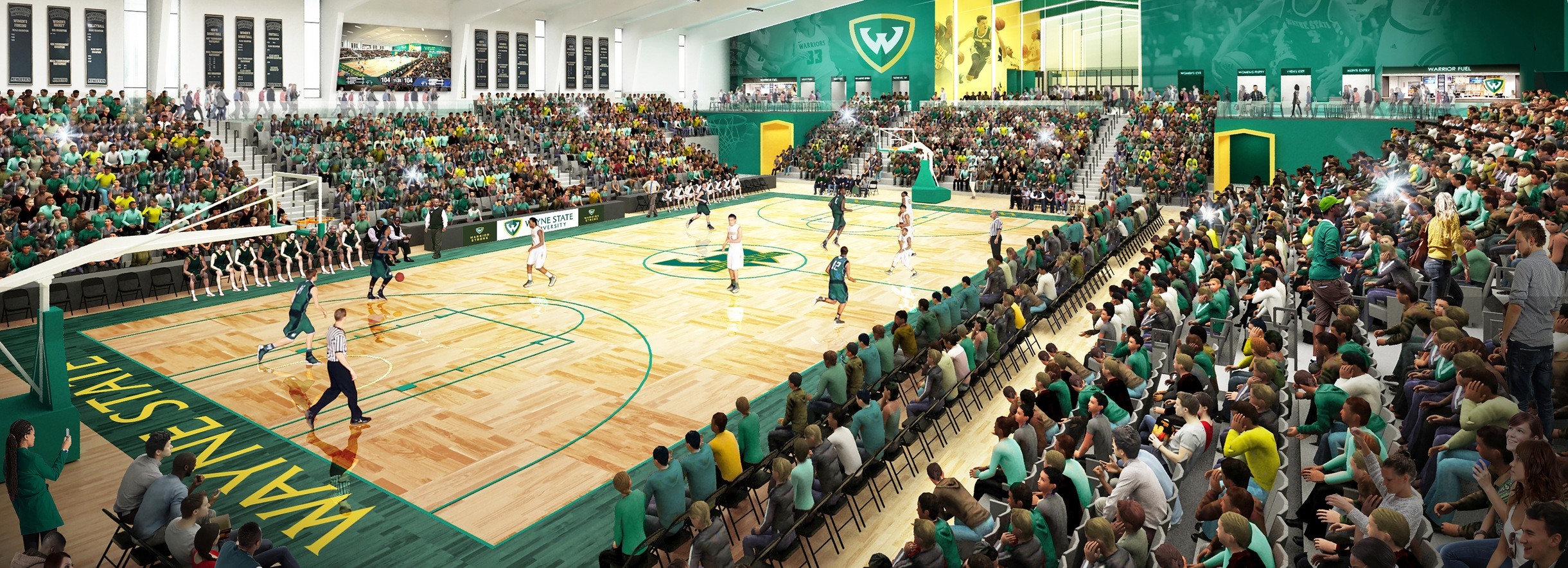 Wayne State announces $25 million arena project