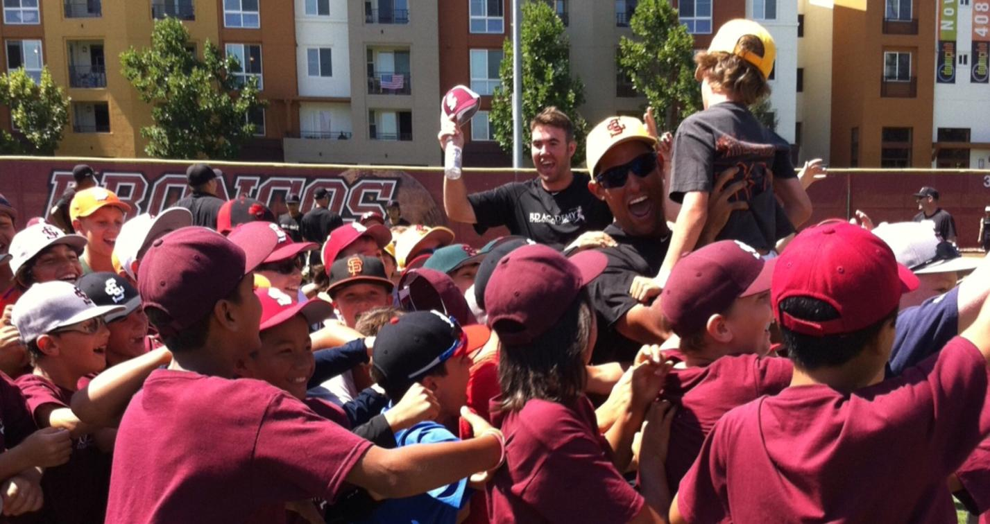 Bronco Baseball Camp Draws Nearly 400 Campers