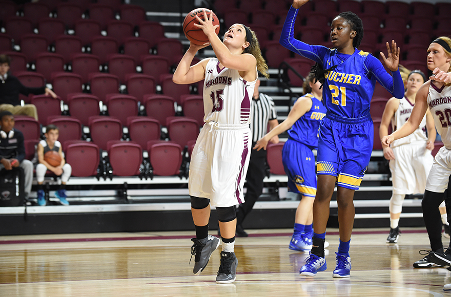 Big Second-Half Sparks Guilford to Win Over Women's Hoops
