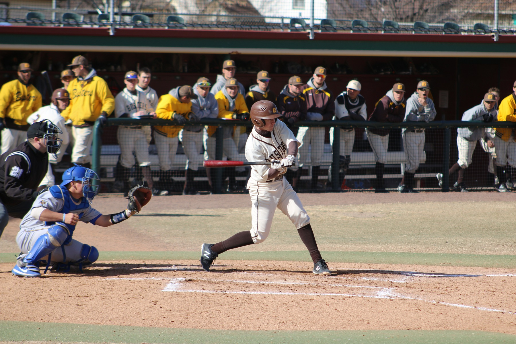 Broncbusters bats awake; Stone and Heiman carry the day on the hill