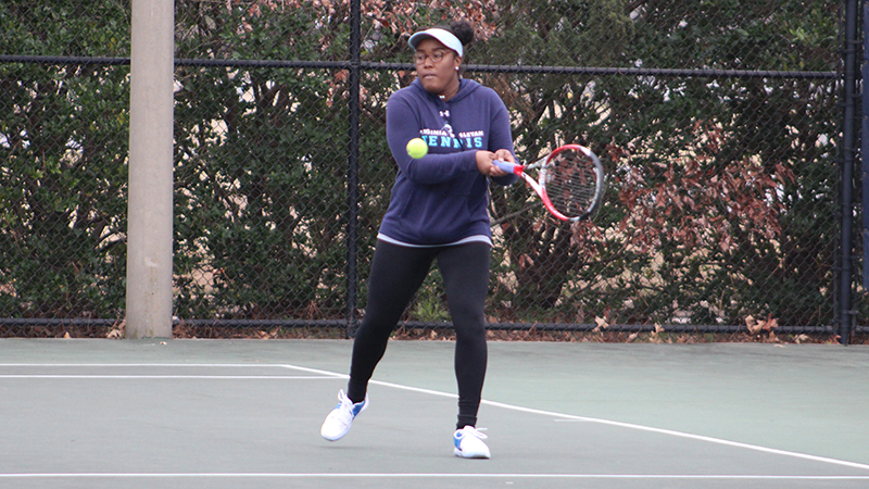 Women's Tennis Cruises to 9-0 Victory Over Guilford