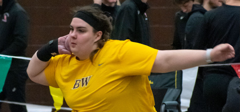 Senior All-OAC and Academic All-OAC thrower Jillian Roberts (Photo courtesy of Russ Hanson)
