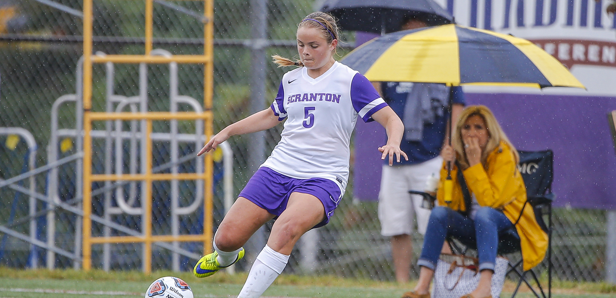 Junior Hannah DeMars has been named The University of Scranton Athlete of the Week for the first time in her career.