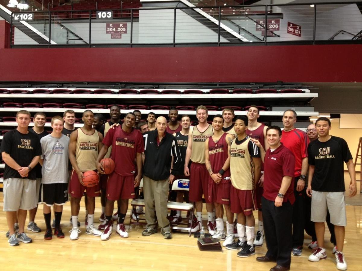 Santa  Clara Athletics Welcomes Legendary Coach Don Meyer