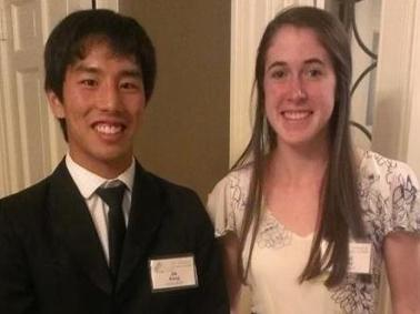 Kang and Kelley Honored By Durham Sports Club