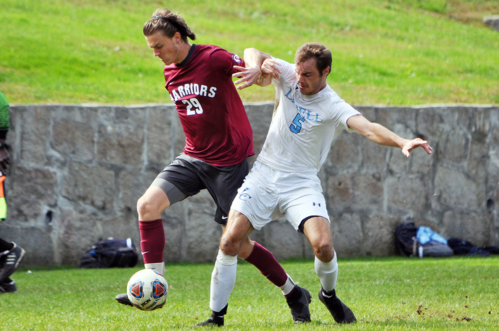Lasell Men's Soccer blanked by Eastern Connecticut