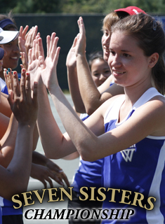 Blue Tennis Wins Twice to Open Seven Sisters