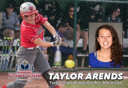 Taylor Arends of Washington University Honored as CoSIDA Academic All-American