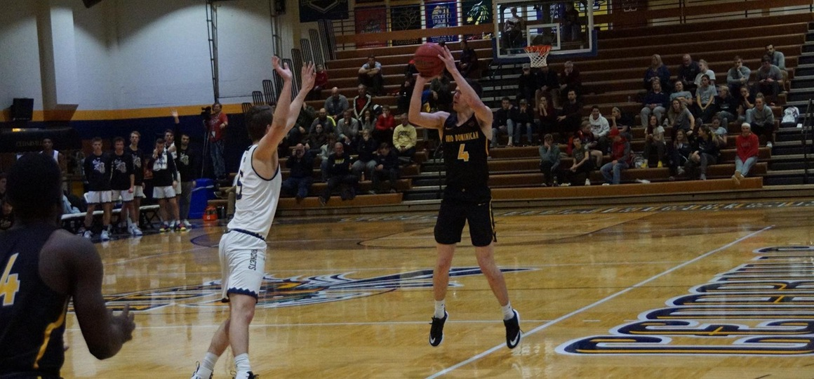 Men's Basketball Drops G-MAC Quarterfinal Contest at Cedarville