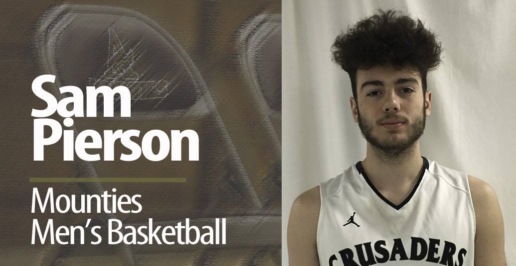 Mounties Men's Basketball pleased to announce new recruit