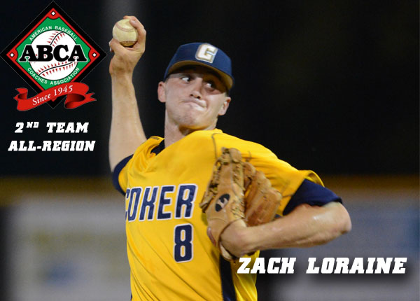 Loraine Named Second Team All-Region by ABCA