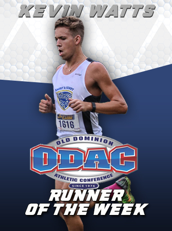 Emory & Henry's Kevin Watts Named ODAC Men's Cross Country Runner Of The Week