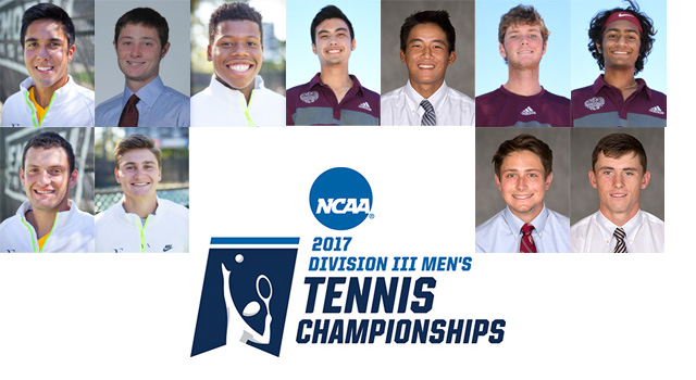 Eleven UAA Players Earn Berths in NCAA Men's Tennis Singles and Doubles Championships