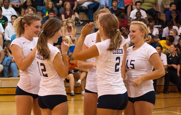 Women's Volleyball Voted No. 9 in Conference Preseason Poll