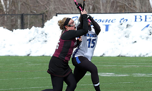 Southern Maine rolls past UMF women's lax, 21-3