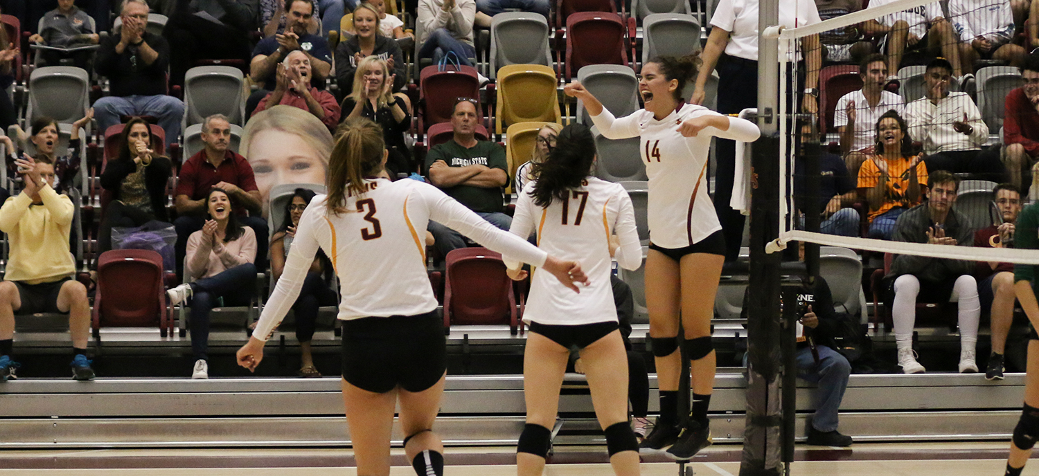 Athenas Cruise to Home Sweep of No. 14 La Verne