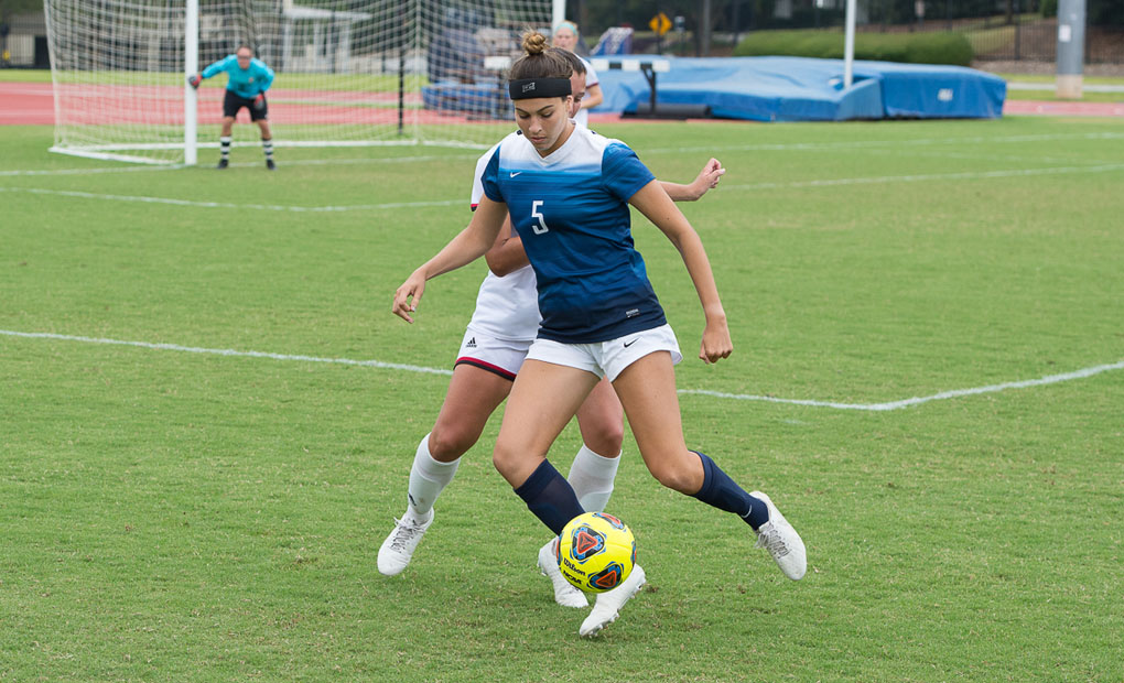 Women's Soccer Blanks Maryville, 2-0, for Third Consecutive Win