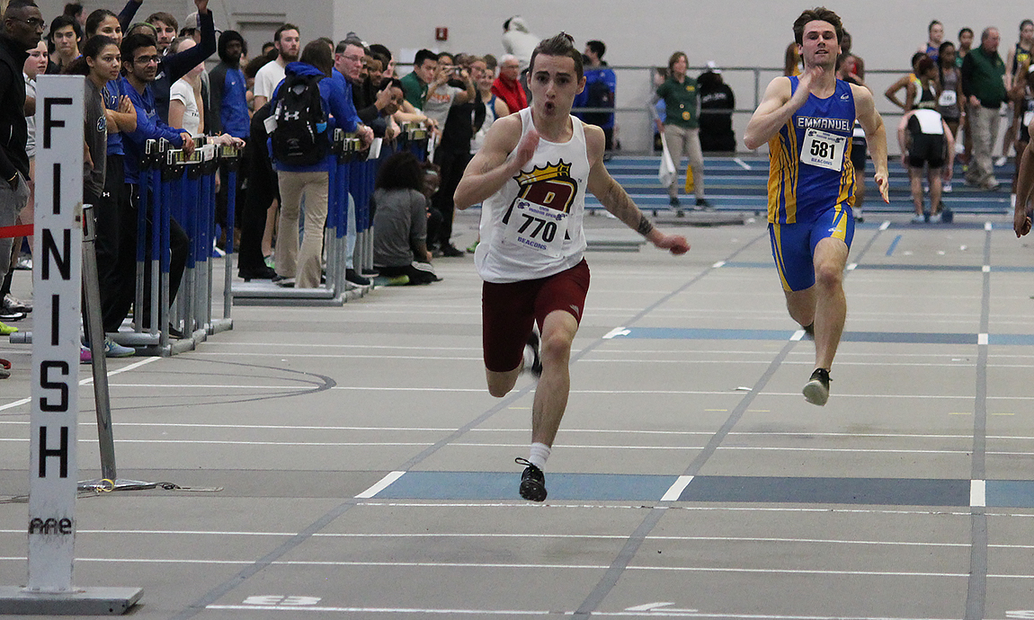Men's Track & Field Continues Indoor Season at Smith Invite