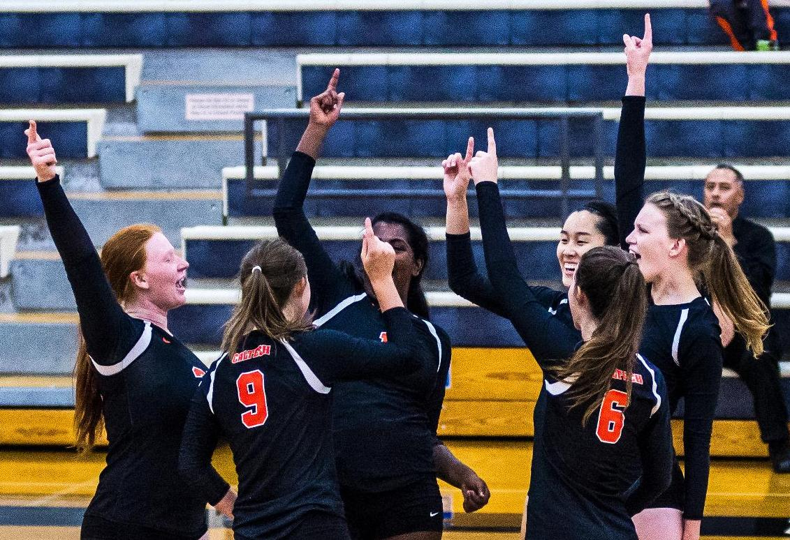 Volleyball One Point Shy of First SCIAC Set Win in Decade