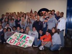 Titan Student-Athletes Stage Holiday Party