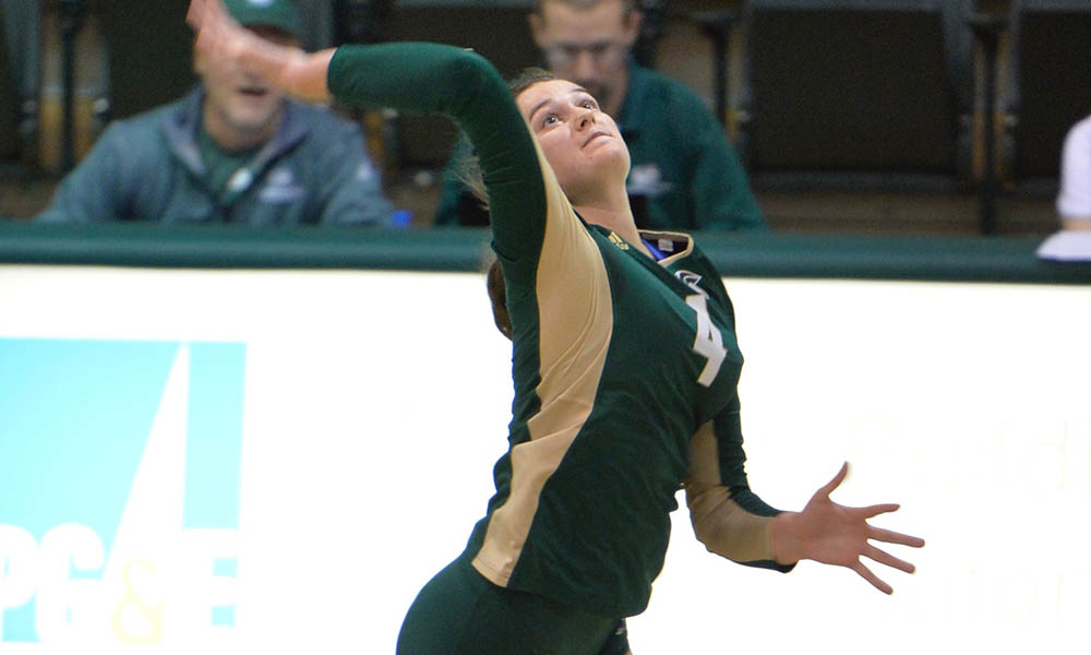 VOLLEYBALL WINS AT EASTERN WASHINGTON, NOW 4-2 IN BIG SKY PLAY