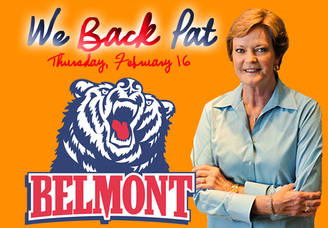 "Women's Basketball Honors Summitt with ""WE BACK PAT"" Night"