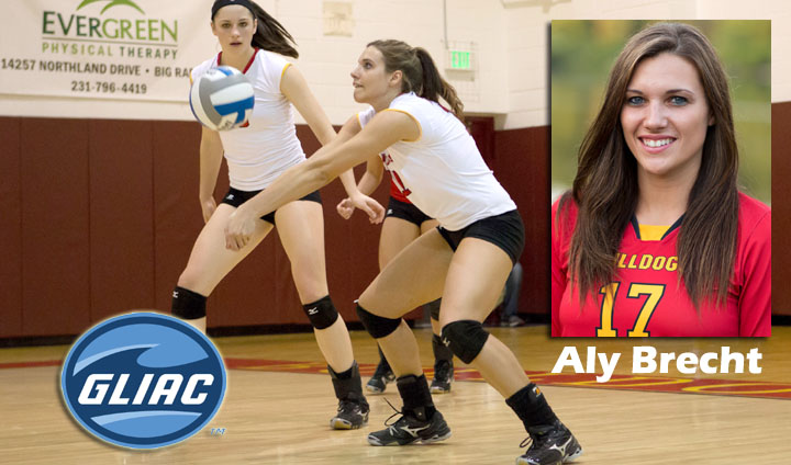 Aly Brecht Honored As GLIAC North Player Of The Week