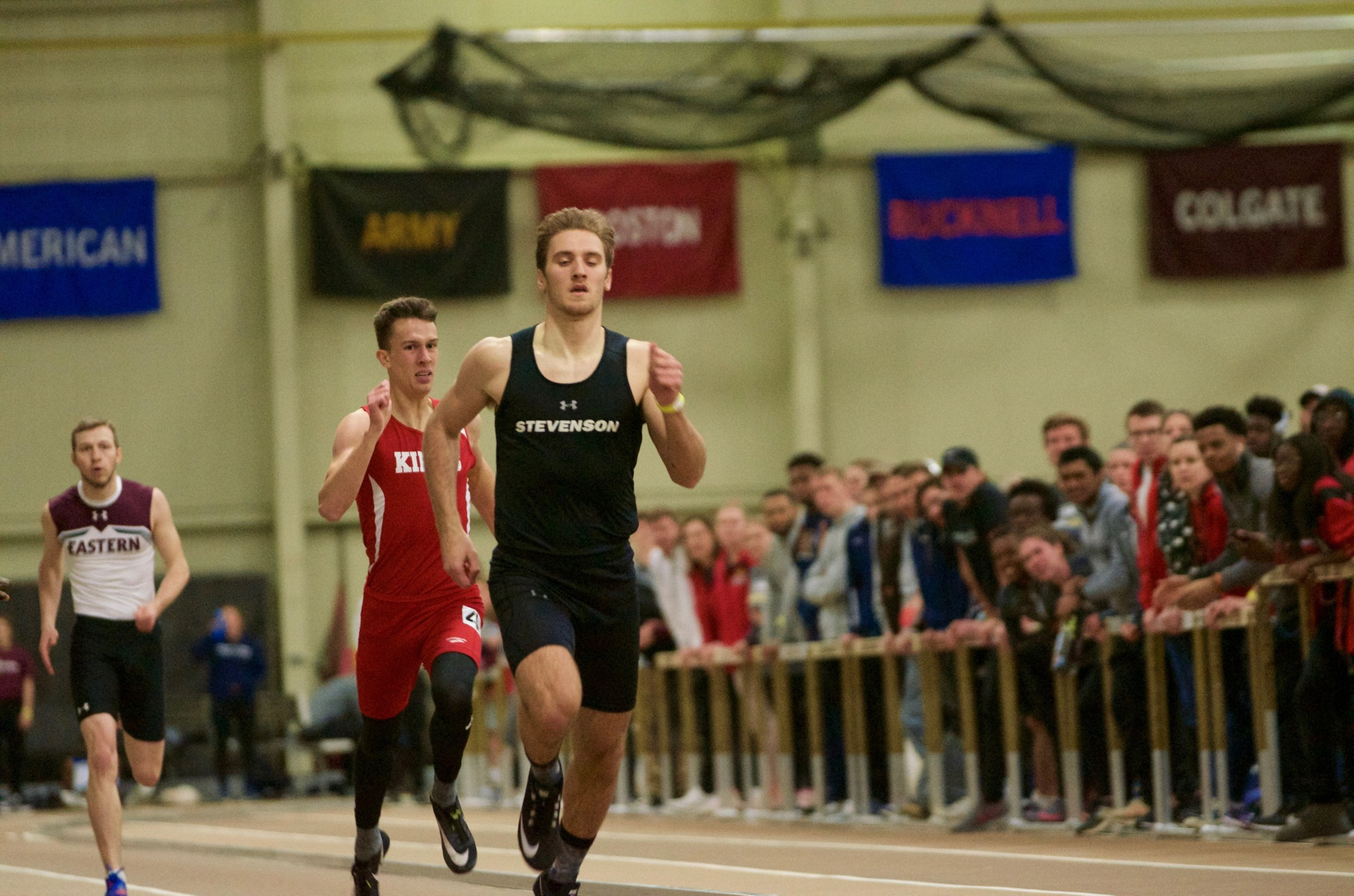 Case Wins Decathlon, Mustangs Second After Day Two at MAC Championship