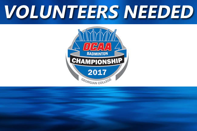 VOLUNTEER POSITIONS AVAILABLE FOR BADMINTON CHAMPIONSHIPS