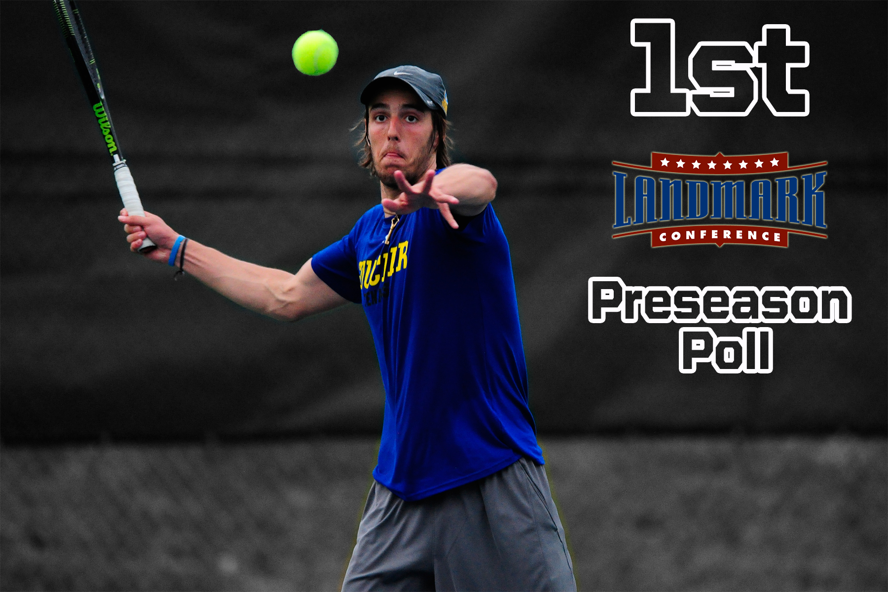 Men's Tennis Slated to Three-Peat in 2018 Landmark Conference Preseason Poll