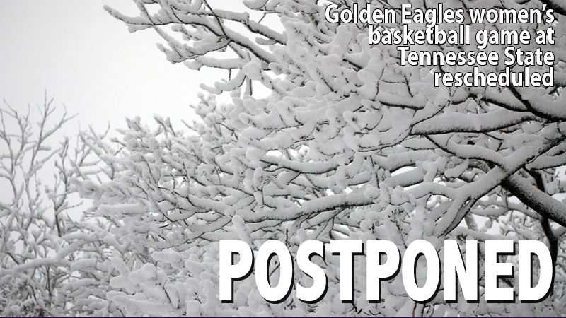 Women's basketball game at Tennessee State postponed