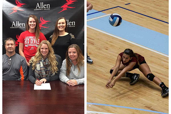 First commitments for Allen Volleyball