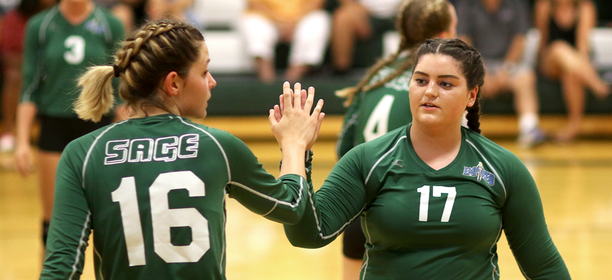 Volleyball loses to Utica, Elmira
