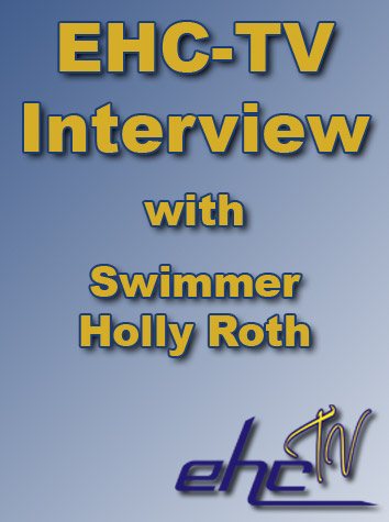EHC-TV Interview With Sophomore Swimmer Holly Roth