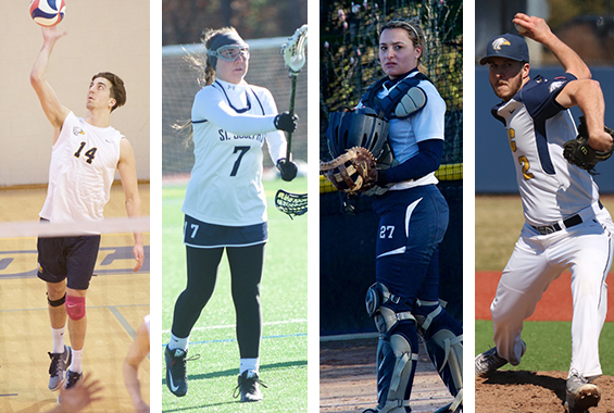 Four Golden Eagles Earn Skyline Player/Pitcher/Rookie of the Week Honors