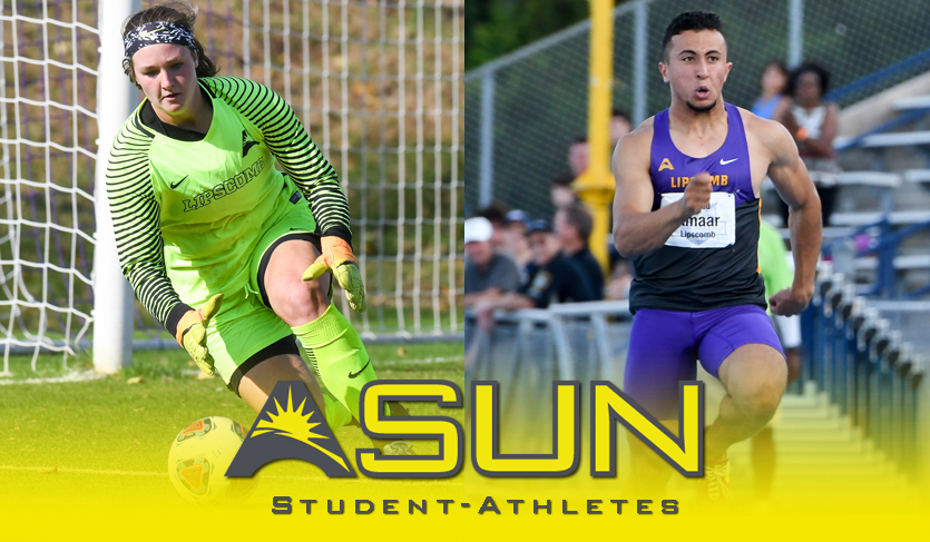 National Student-Athlete Day: Lipscomb's Kate Mason & Ahmed Amaar