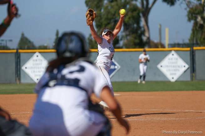 File Photo: Sierra Gerdts took the loss in Game 1 of their series against Mt. SAC