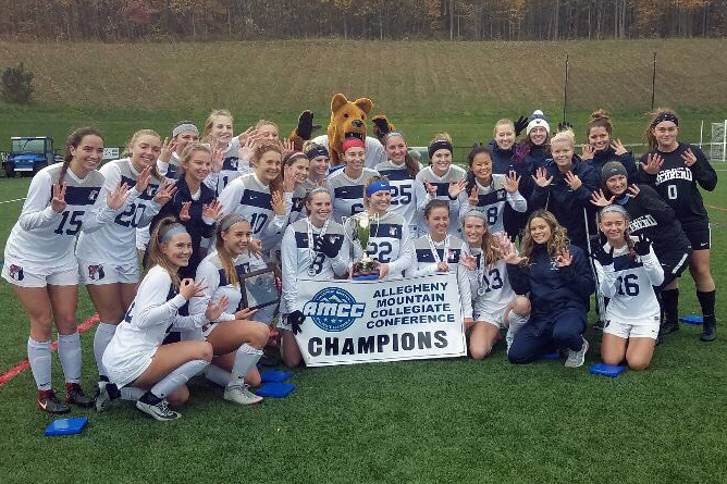 Women's Soccer Claims Eighth Straight AMCC Championship