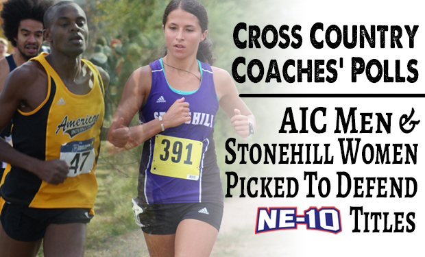 NE-10 Cross Country Championships Set for Saturday at Stonehill