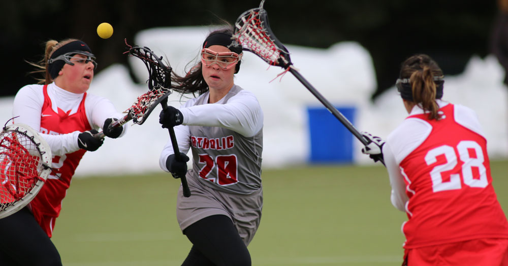 No. 5 Catholic Downed by No. 7 Cortland, 13-8