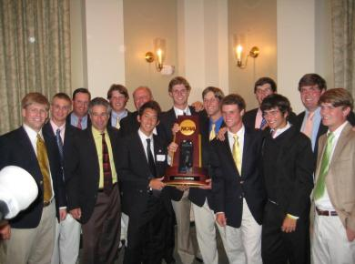 Petrel Golfers Celebrate 2012 National Championship at East Lake Golf Club