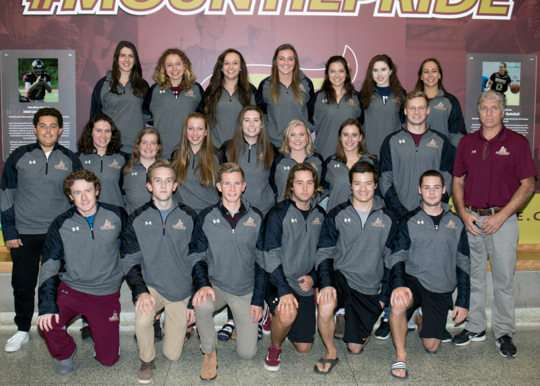 Swim Team Photo 2017-18