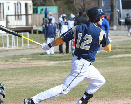 Bison jump out early on Rivier en route to an 8-1 win
