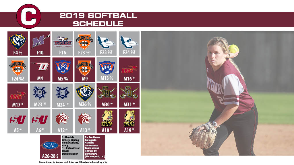 Ladies Softball Releases its 2019 Schedule