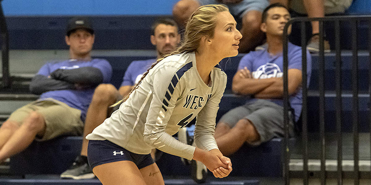 Volleyball falls in three sets to Widener