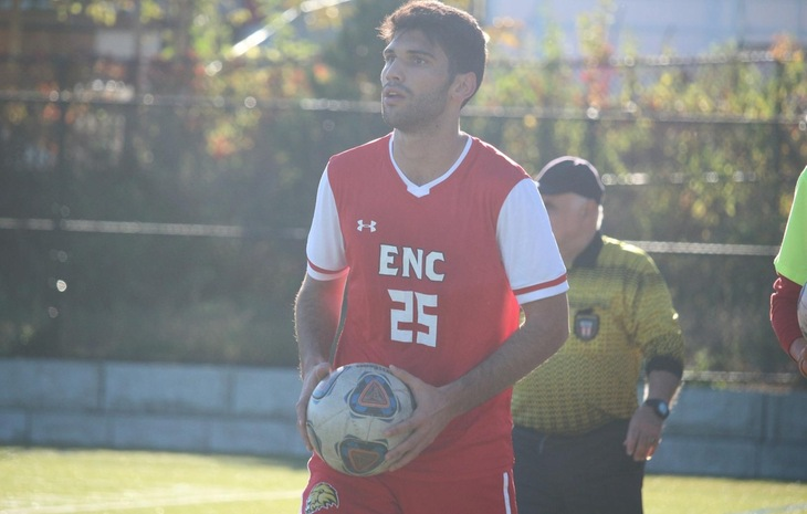 Men's Soccer Falls at New England College, 4-2