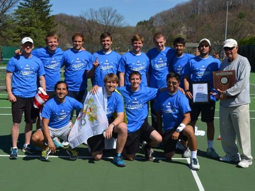 Catholic Wins First-Ever Men's Tennis Championship