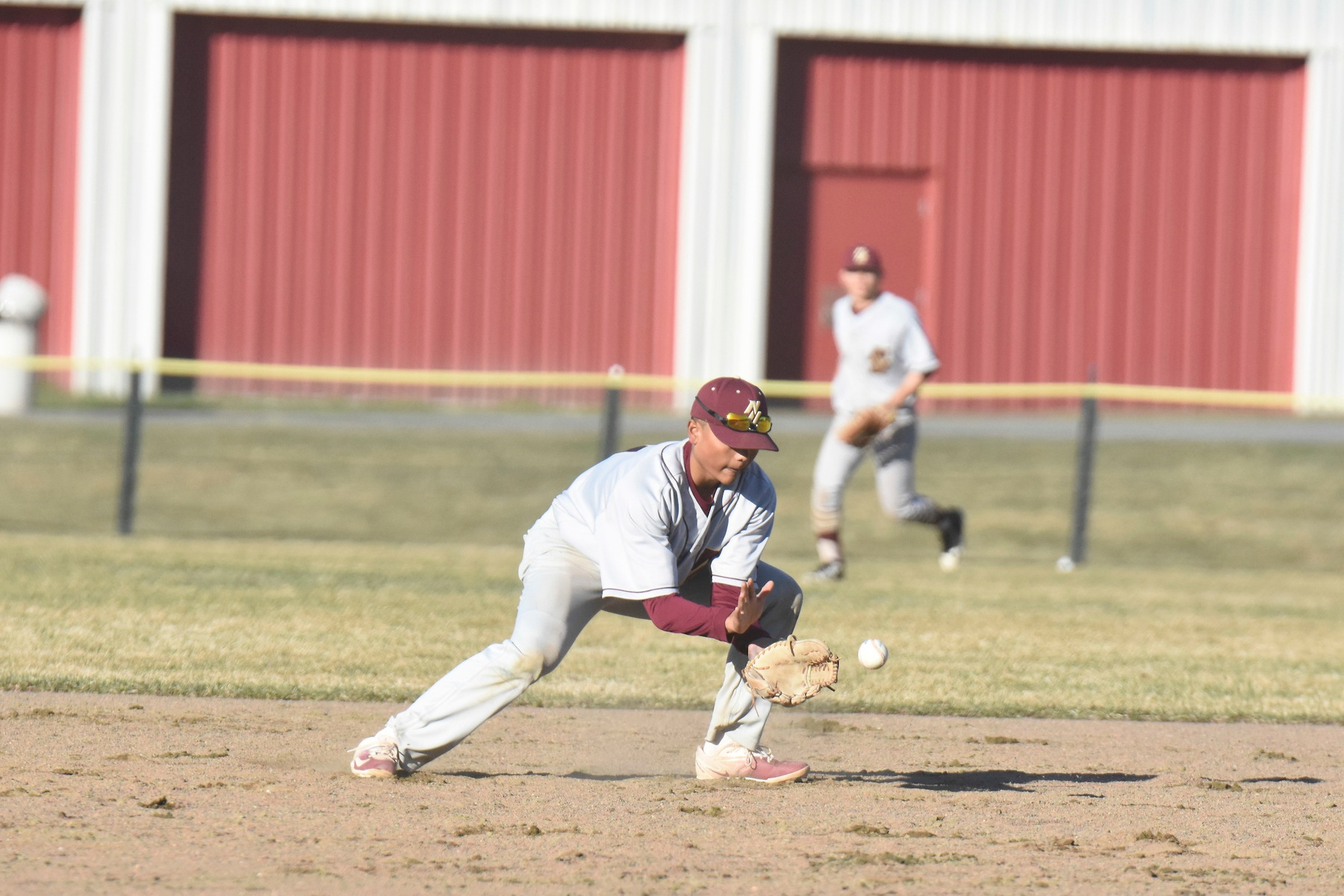 Baseball: Cadets Split Doubleheader at Lasers